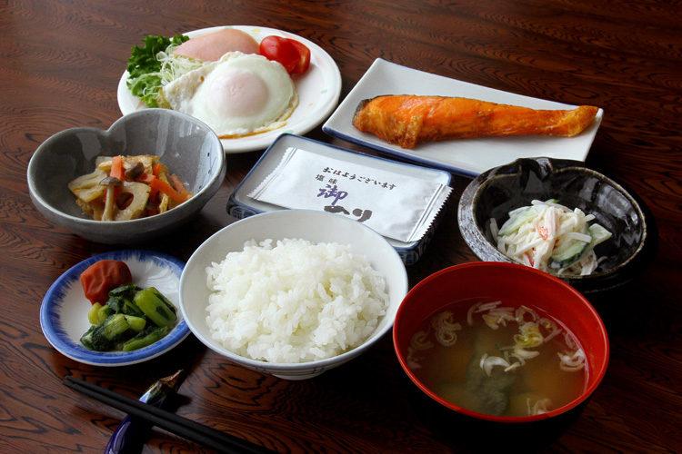 お料理 朝食の例